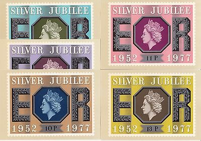 GB - Mint PHQ Cards - 1977 - Silver Jubilee