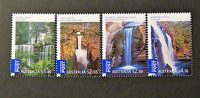 Australian Decimal Stamps: 2008 Waterfalls Australia - Int'l Post - Set of 4 MNH