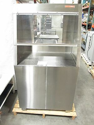 """Clean Air Products CAP1412 Wet Process Station 4"""" Drain 24"""" x 36"""" Work Area"""