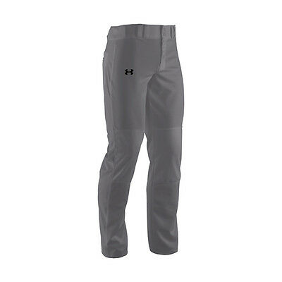Under Armour Clean Up Relaxed Fit Baseball Pants 1237002 Gray Men's Small