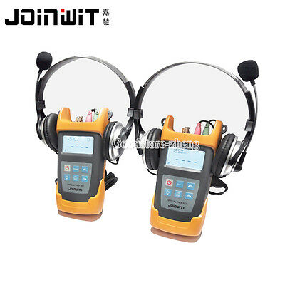 JW4103N 1310/1550nm handheld fiber optical talk set