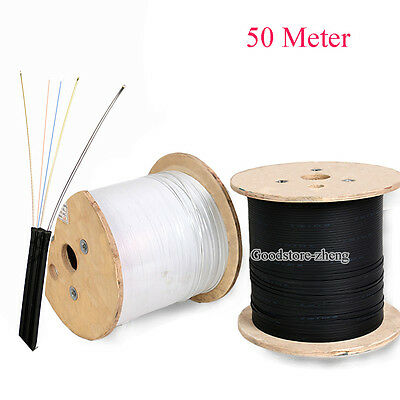 2 cores 50 meters FTTH cables Fiber cables jumper cables Outdoor/Indoor-SM