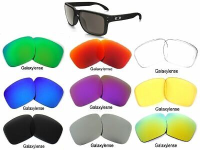 Galaxy Replacement Lenses For Oakley Holbrook Multi-Color Polarized 100% UVAB