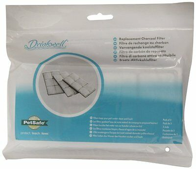 PetSafe Drinkwell Replacement Filter Cartridges (3 Pack)