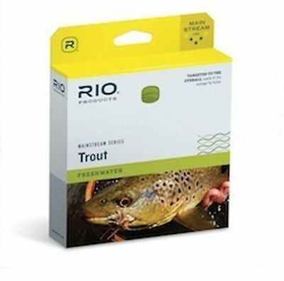 Rio Mainstream Series Fly Line Freshwater Fishing Floating & Intermediate WF8S6
