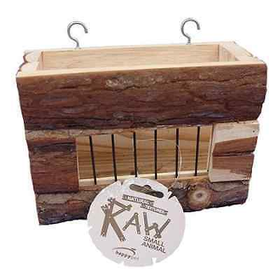 Happy Pet Raw Wooden Hayrack