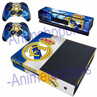 Real Madrid CF Football Vinyl Skin Decals Sticker for Xbox One Kinect Controller
