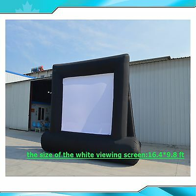 Large Movie Screen 16.4*9.8 ft Inflatable Advertising Screen  Inflatable YARD
