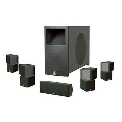 """New Pyle 5.1 Ch Home Theater Passive Speaker System 5 Speakers & 10"""" Subwoofer"""