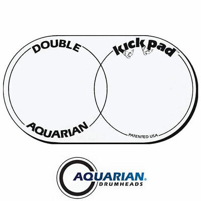 Aquarian KP2 Kick Pad Double Bass Drum Beater Patch