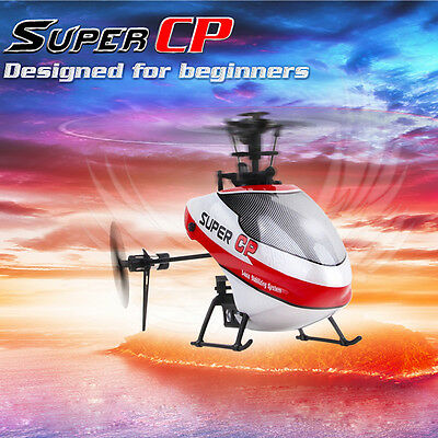 Walkera Super CP 6CH 2.4GHz 3D Mini RC Helicopter w/ DEVO 7E Transmitter RTF