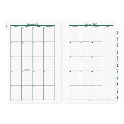 "Franklin Covey 2017 Original Dated Daily Planner Refill, 5-1/2"" x 8-1/2"""