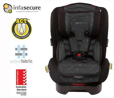 Br New Infasecure Luxi Treo Convertible Kid Infant Baby Car Seat 0-8 years Ebony