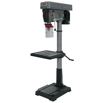 "1HP 1PH 115/230V 20"" Floor Model Drill Press JET 354402 New"