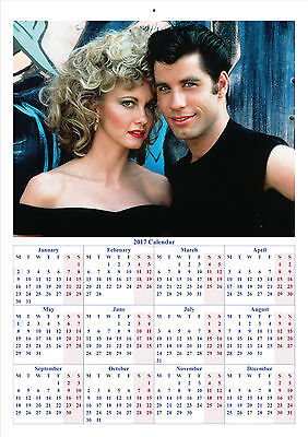Grease - 2017 A4 CALENDAR *BUY ANY 1 AND GET 1 FREE OFFER*