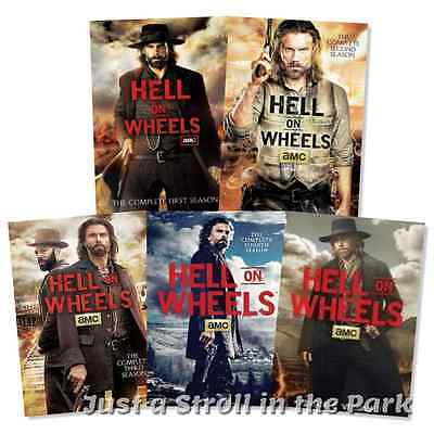 Hell on Wheels TV Series Complete Seasons 1 2 3 4 5 Vol 1 Box / DVD Set(s) NEW!