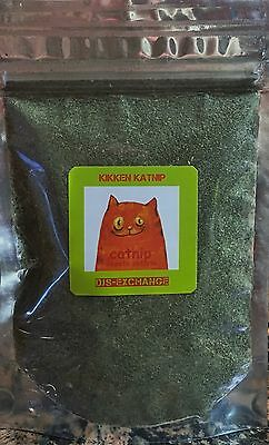 Catnip 1 oz Ounce Loose Bulk Catnip  Resealable Bag Very Fresh and Potent !!!