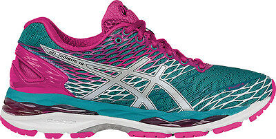 WOMEN'S ASICS GEL Nimbus 18 Running Shoe LapisSilverSport