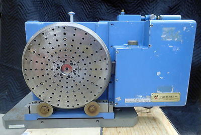 "A.A. GAGE 12"" HORIZONTAL AUTOMATIC ROTARY TABLE MODEL B with BEI ENCODER M25G"