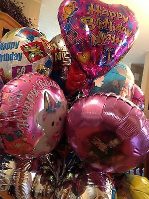 HAPPY BIRTHDAY Mom heart butterflies bear Kim Anderson mylar BALLOON Lot 15 pc