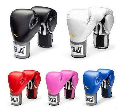 Everlast Style Boxing Training Gloves Sparring Fighting Gloves 10 12 14 16 oz