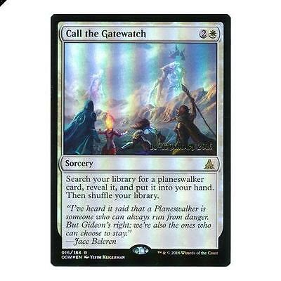 Call the Gatewatch - OGW Prerelease Foil Promo Cards