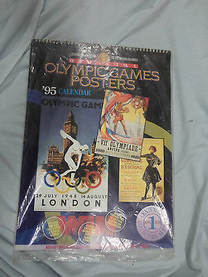 Large 1995 / 1996 Olympic Games  Posters  Calendar