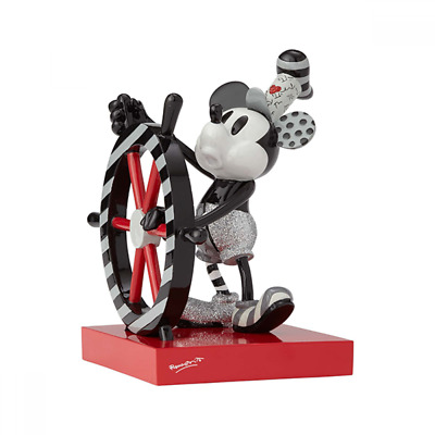 Official Romero Disney Steamboat Willie Mickey Mouse Large 18cm  Figurine