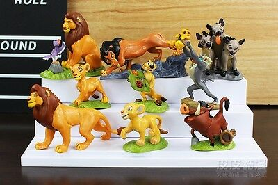 9pc The Lion King Guard Figurine Playset Cake Topper Figure Toy Kion Simba US