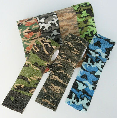 Camo Bandage Gun wrapping First Aid Wound Care&Military Stealth Tape 5cm*4.5M