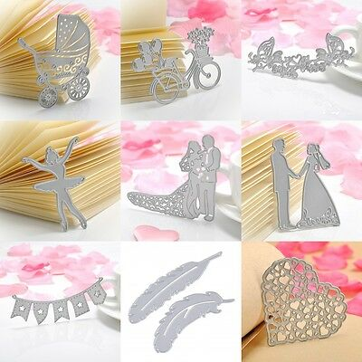 Metal Flag Cutting Dies Stencil DIY Scrapbook Album Paper Card Craft Embossing