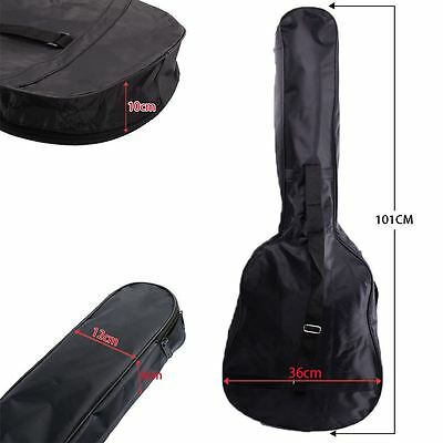 NEW 3/4 Size Acoustic and Classical Guitar Carrying Carry Case Bag Holder Sleeve