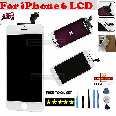"For iPhone 6 4.7"" Replacement LCD Touch Screen Display Digitizer Assembly White"