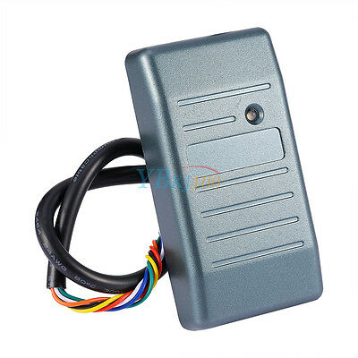 DC 8-15V Proximity RFID EM ID Cards Reader For Wiegand 34 RS485 RS232 ABA