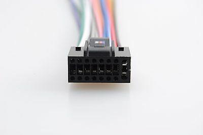 For Kenwood 16-pin Car Radio Stereo CD Player Wiring Harness Plug Cable Adapter