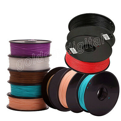 3D Printer Filament ABS PLA 1.75mm 1kg/roll 21 colours Aussie Stock Fast Ship