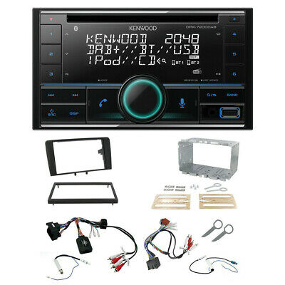 Audi A3 8P 2003> Double Din Stereo CD USB iPhone Bluetooth DAB Radio Upgrade Kit