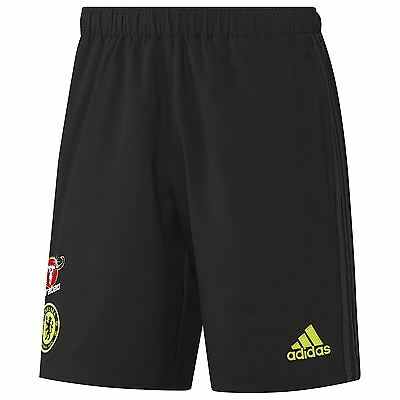 adidas Mens Gents Football Soccer Chelsea Training Woven Shorts - Black