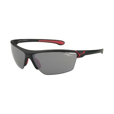 Cebe Cinetik 3 Polarized, matt black/red, Sportbrille, Sonnenbrille, Polarized