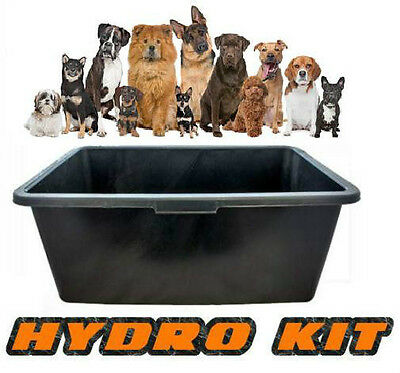 New Dog Bath For Cleaning Pet Large Outdoor 80L grooming