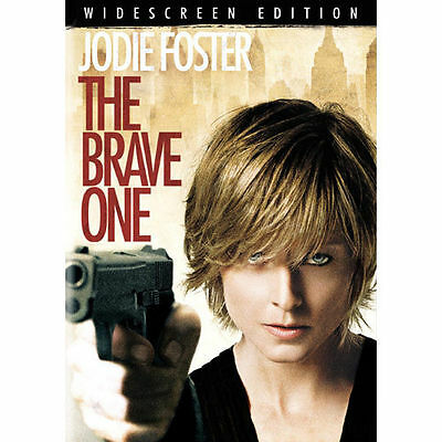 The Brave One (DVD, 2008, Widescreen) Jodie Foster G  FREE SHIPPING