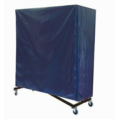 Z Rack  Cover Blue Nylon Rack Heavy Duty Rolling Clothing Garment Clothes 66x63