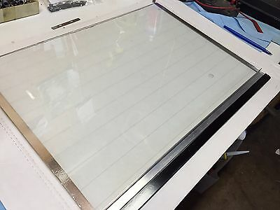 For TBS  MINOTOME  cryostat  replacement heated glass window