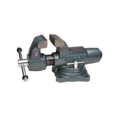 Wilton 350S 3-1/2 in. Jaw Width Swivel Base Machinists Bench Vise WMH10011 New