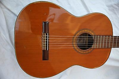1977 Takamine C-132S Classical Vintage Japan Solid Top!