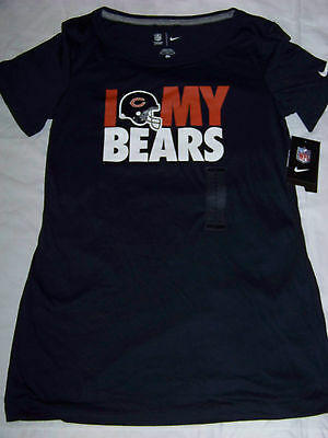 847dc458 NIKE WOMEN'S CHICAGO Bears Retro Tee Shirt NWT - $27.99 | PicClick