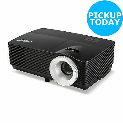 Acer X112H 3000 Lumens HDMI Projector - Black - From the Argos Shop on ebay