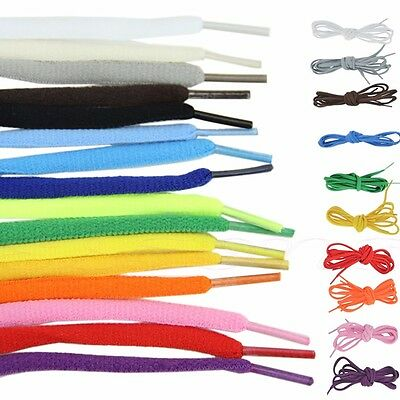 1Pair Athletic 51 Inch Oval Shoelaces Sport Sneaker Boots Shoe Laces Strings
