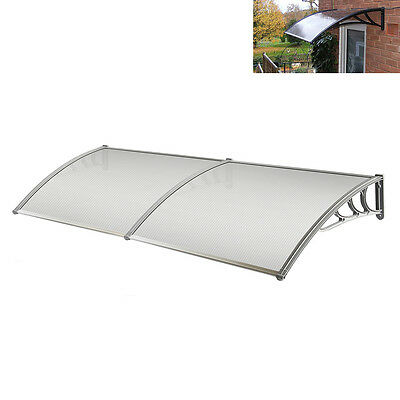 Door Canopy Canopies Front Back Awning Patio Porch Roof Rain Outdoor Shelter