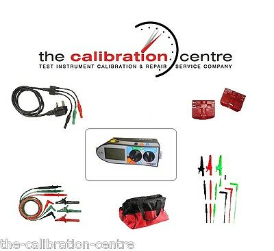 Replacement Test Leads & Accessories For Megger Mft1502 Multifunction Tester